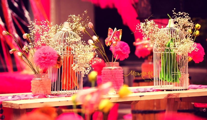 Beautiful pink Centre Pieces