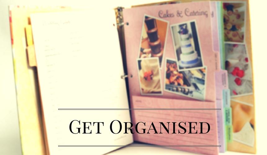 Organise your wedding using a pintrest borard
