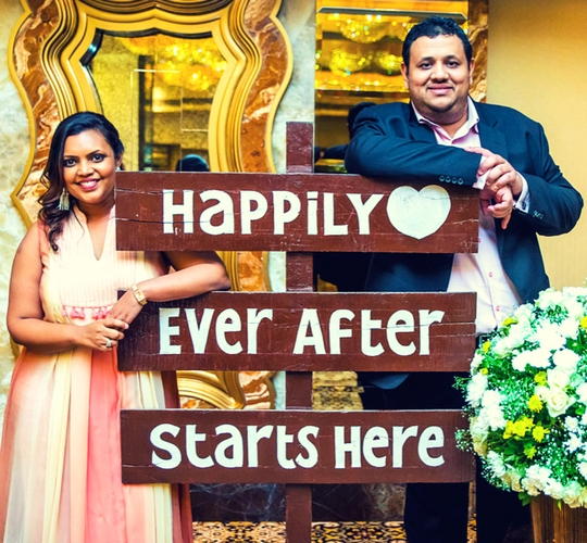 The Wedding Planning Couple