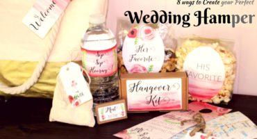 Customize your wedding hamper